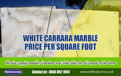 White Carrara Marble Price Per Square Foot