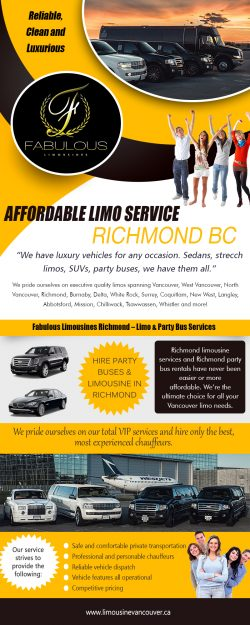 Affordable Limo Service Richmond BC