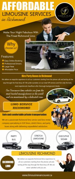 Affordable limousine services In Richmond