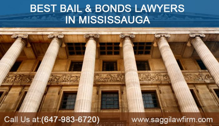 Best Bail & Bonds Lawyers in Mississauga