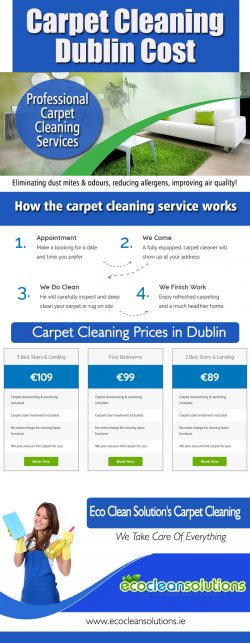 Carpet Cleaning Dublin Cost
