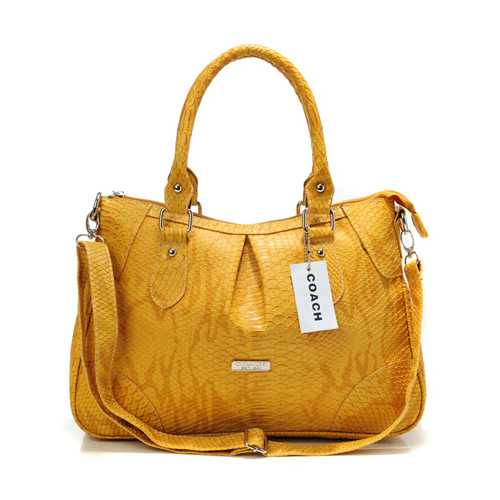 Coach Logo In Signature Medium Coffee Totes Official Site coach-outletonline.name
