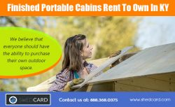 Rent To Own Cabins In KY