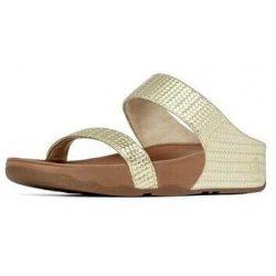 Fitflops Fleur Sandals Pale Bronze Women On Sale fitflopclearancesale.net