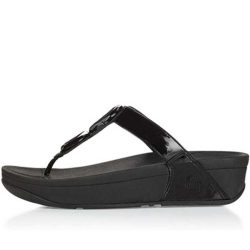Fitflop Novy Sandals Black Women OKH189 fitflopsandalsclearance.us