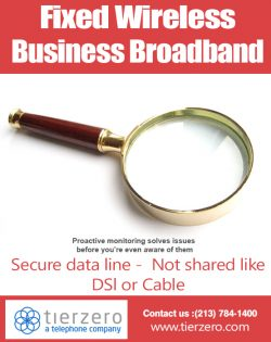 Fixed Wireless Business Broadband