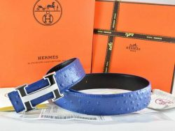 Hermes H Belts With H Logo Brown Leather In Gold Metal Buckle hermesbelt.us.com