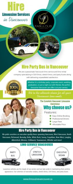 Hire limousine services in Vancouver