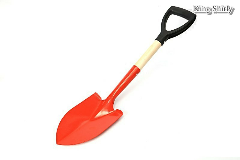 26in shovel wooden handle D grip