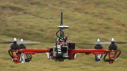 Drohnen plakette