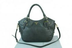 Prada Handbags 1fwdm Black Official pradatotebag.com