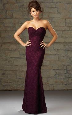 Perfect Long Purple Bridesmaid Dress BNNCC0036