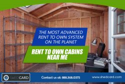 Finished Portable Cabins Rent To Own Near Me