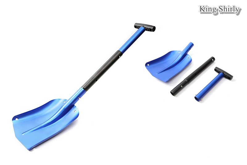 versatile aluminum snow shovel