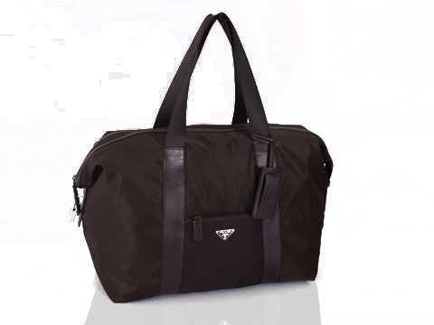 Prada 846G7 Handbags in Light Gray Factory Outlet prada-bagsoutlet.net