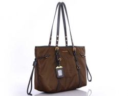Prada GG33X3 Handbags in Coffee Outlet Online prada-bagsoutlet.net
