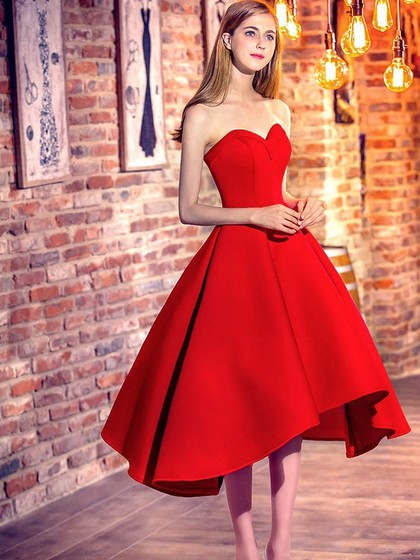Cheap High Low Prom Dresses   Asymmetrical Prom Gowns Sale Online