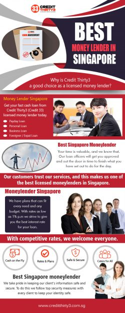 Best Money Lender in Singapore (2) | https://www.creditthirty3.com.sg/