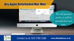 Buy Apple Refurbished Mac Mini