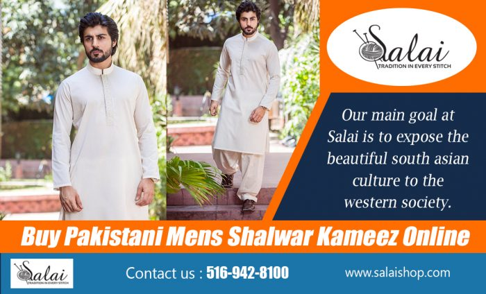 Buy Pakistani Mens Shalwar Kameez Online   https://salaishop.com/