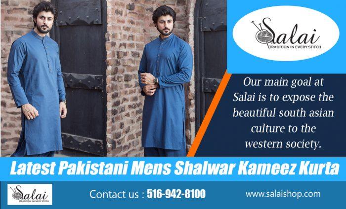 Latest Pakistani Mens Shalwar Kameez Kurta   https://salaishop.com/