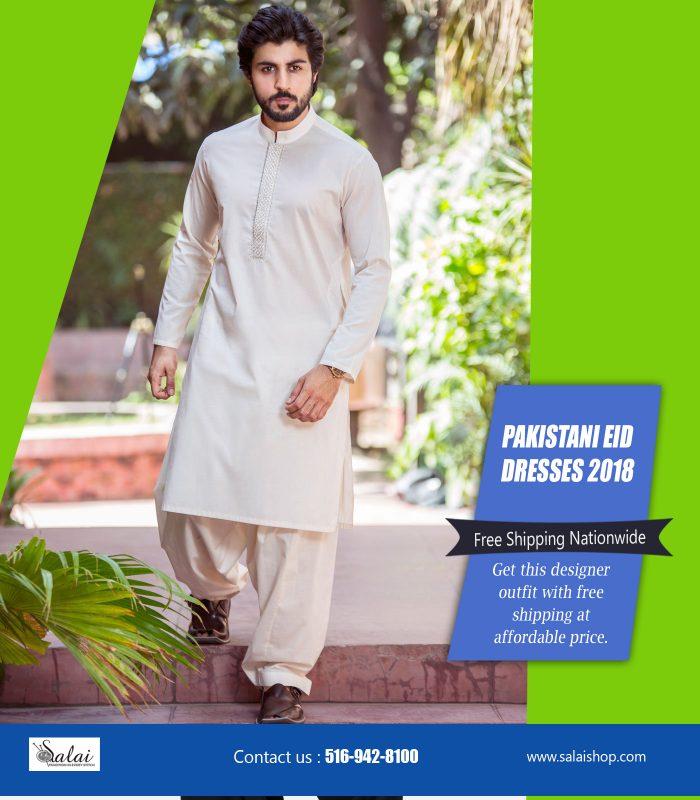Pakistani Eid dresses 2018 | https://salaishop.com/