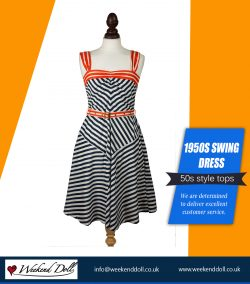 1950s Swing Dress | https://www.weekenddoll.co.uk/collections/swing-dresses