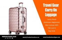 Travel Gear Carry On Luggage | https://www.freedomtravelgear.com/
