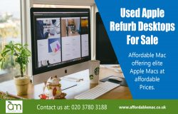Used Apple Refurb Desktops For Sale