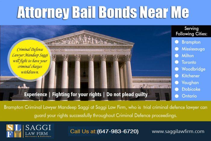 Attorney Bail Bonds Near Me