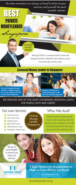 Best Private Moneylender Singapore | 6562912210 | katongcredit.com.sg