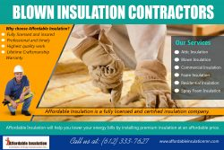 Blown Insulation Contractors | affordableinsulationmn.com