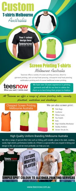 Custom T-Shirts Melbourne|https://www.teesnow.com.au/