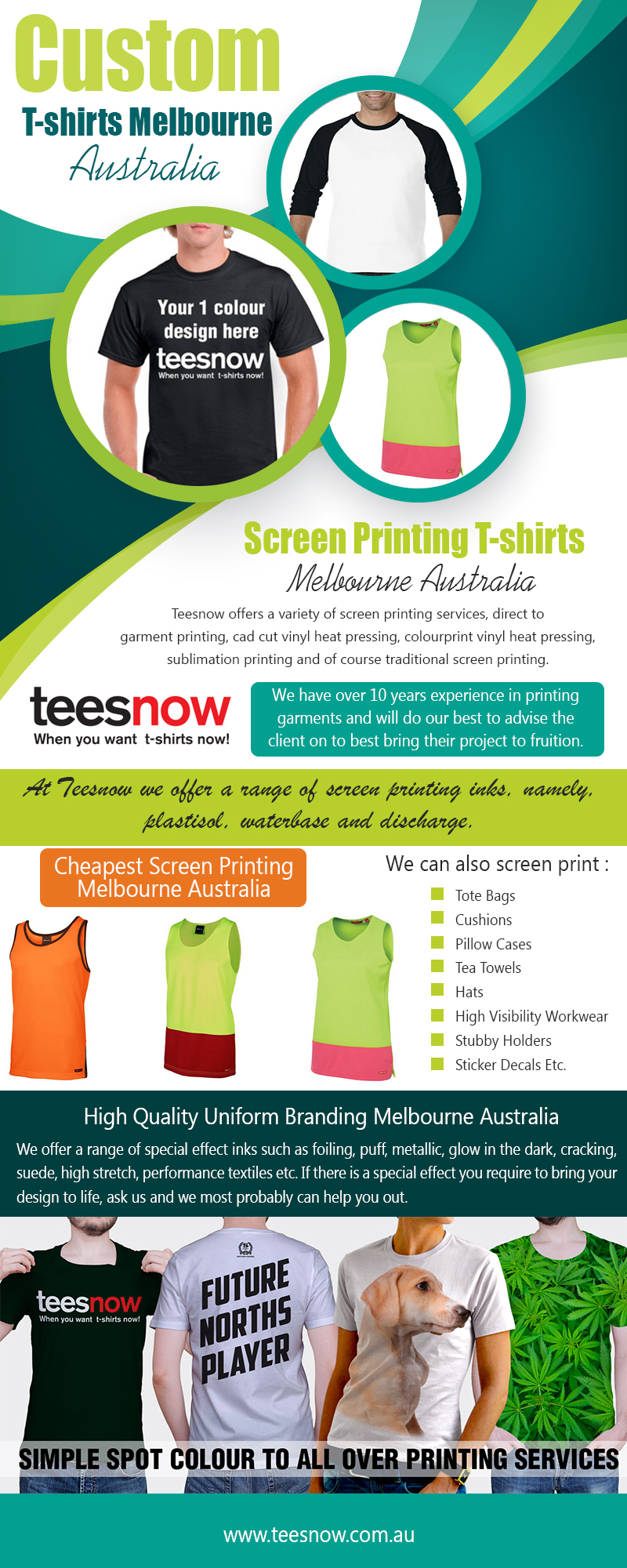Custom T-Shirts Melbourne|https://www.teesnow.com.au/