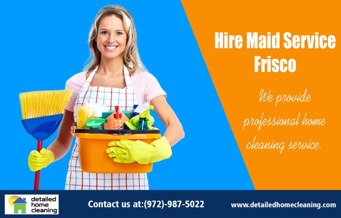 Hire Maid Service Frisco