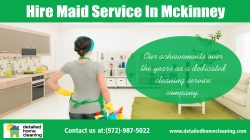 Hire Maid Service In Mckinney