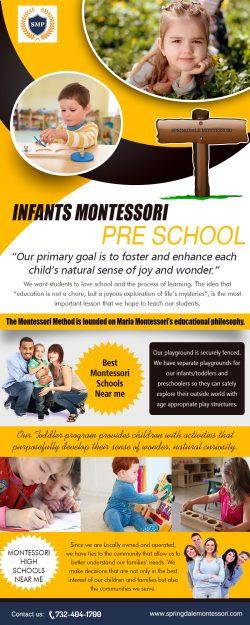 Infants Montessori | springdalemontessori.com