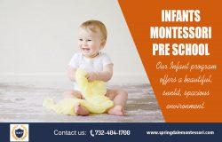 Infants Montessori Pre School | springdalemontessori.com