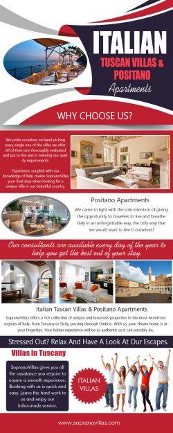 Italian Tuscan Villas & Positano Apartments | sopranovillas.com