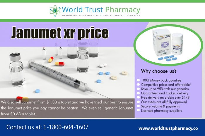 Janumet XR Price   worldtrustpharmacy.co