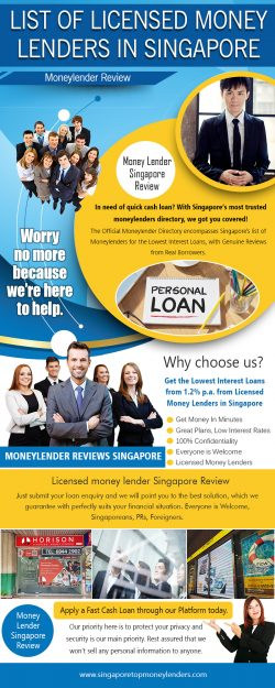 List of Licensed Money Lenders in Singapore (2) | singaporetopmoneylenders.com
