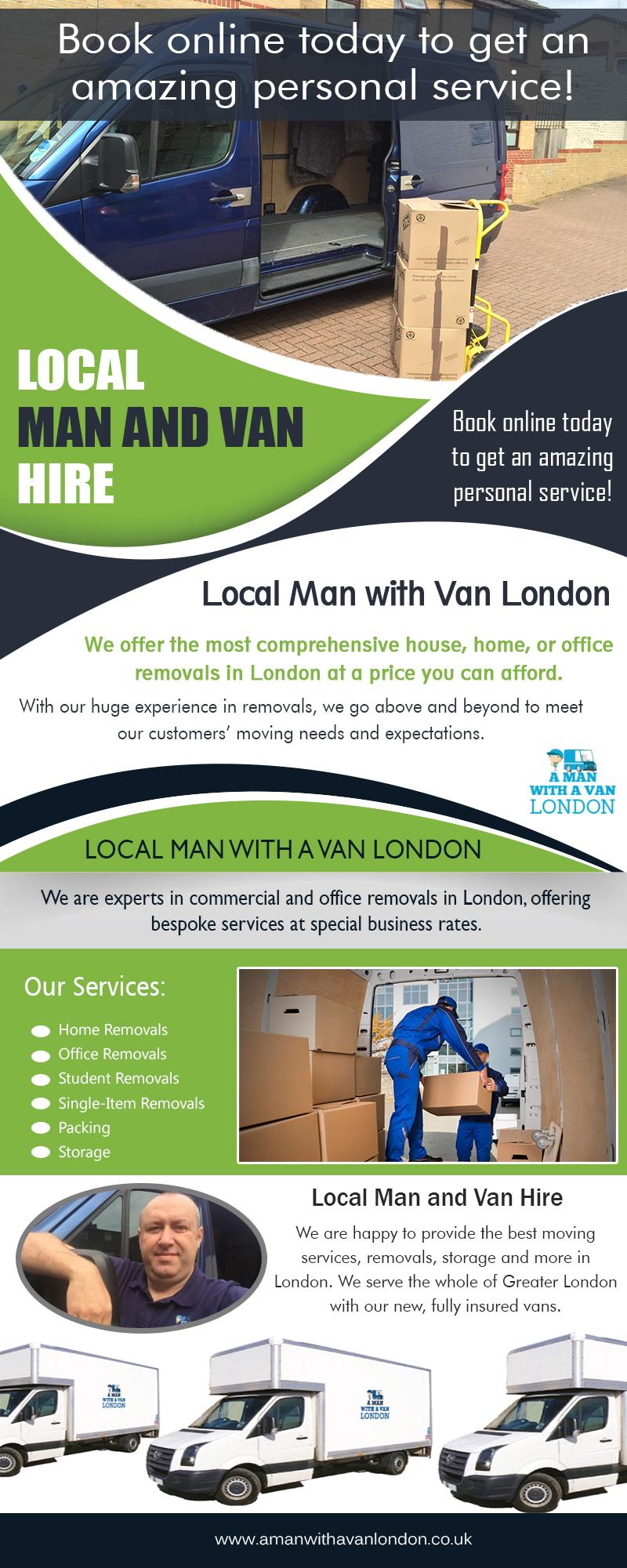 Local Man and Van Hire|https://www.amanwithavanlondon.co.uk/