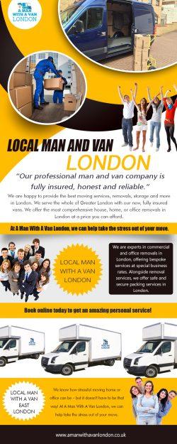 Local Man with a van London https://www.amanwithavanlondon.co.uk/