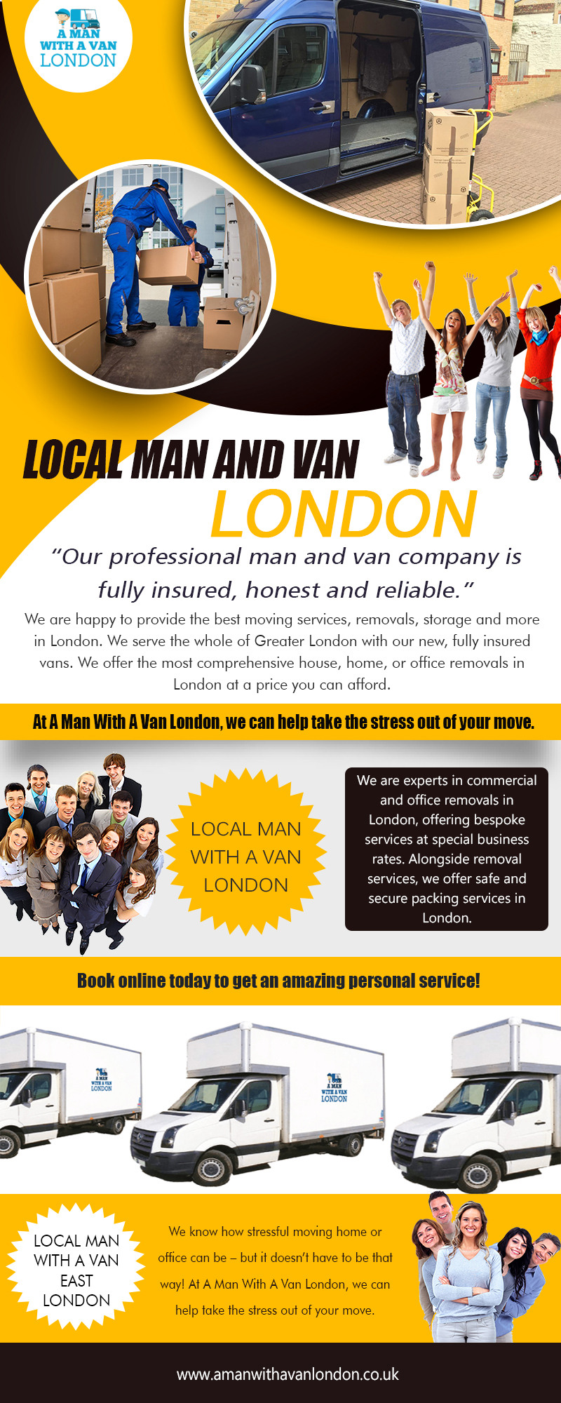 Local Man with a van London|https://www.amanwithavanlondon.co.uk/