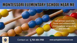 Montessori Elementary School Near me | springdalemontessori.com