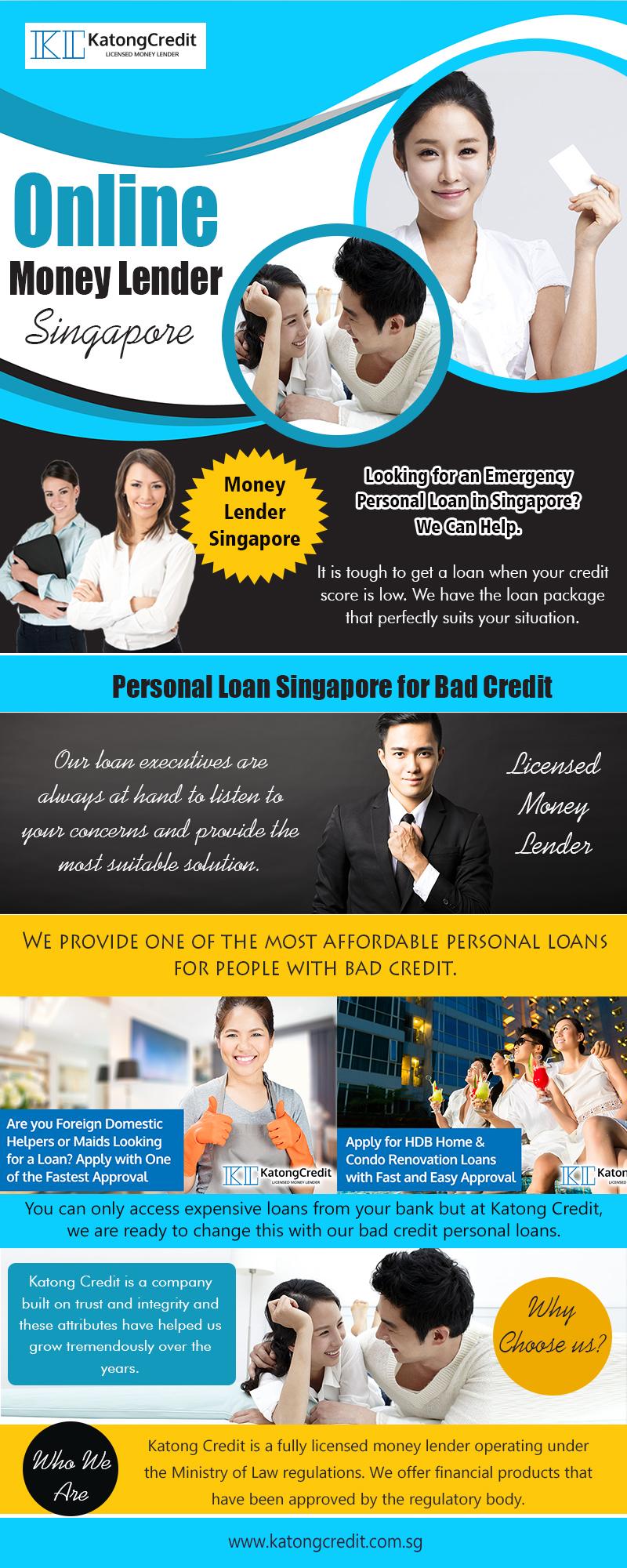 Online Money Lender Singapore 2 | 6562912210 | katongcredit.com.sg