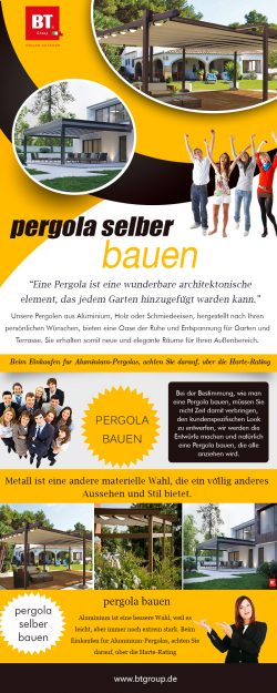 Pergola Selber Bauen | btgroup.de