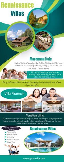 Renaissance Villas | sopranovillas.com