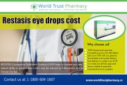 Restasis Eye Drops Cost | worldtrustpharmacy.co