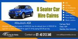 8 Seater Car Hire Cairns